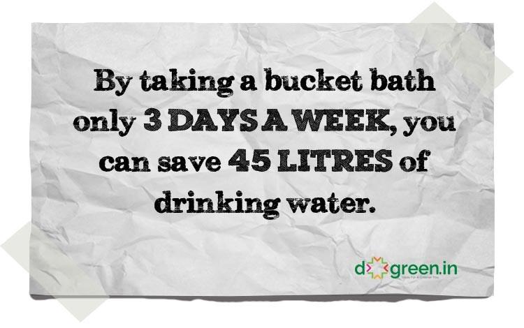 bucket-bath