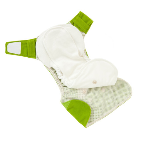 All in two eco friendly diaper