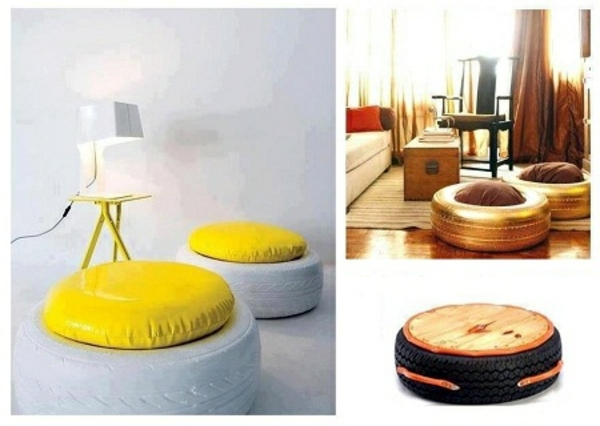 Image Courtesy: http://www.ofdesign.net/interior-design/100-diy-furniture-from-car-tires-tire-recycling-do-it-yourself-39888