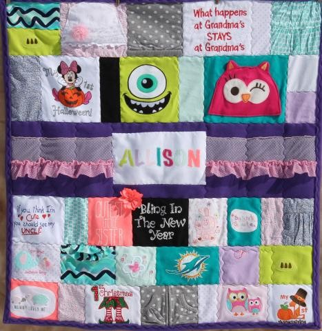 Image Courtesy: https://www.quiltkeepsake.com/baby-clothes-quilts