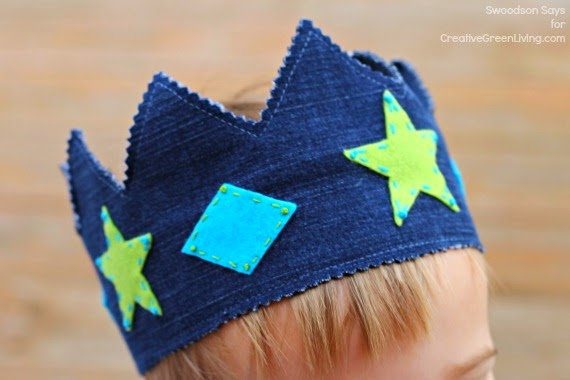 Image Courtesy: http://www.creativegreenliving.com/2015/01/recycled-jeans-dress-up-play-crown-tutorial.html