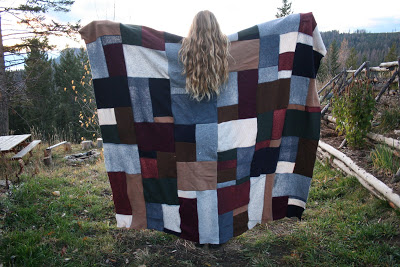 Image Courtesy: http://ahandmadelife.blogspot.in/2010/11/felted-sweater-patchwork-quilt.html