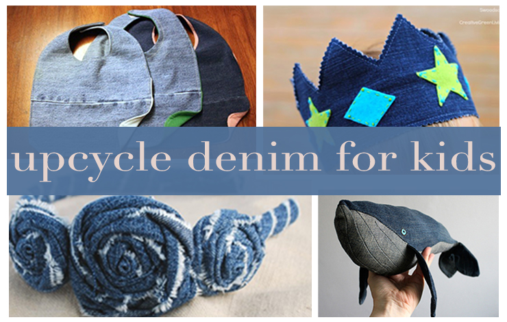 upcycle old denims for kids