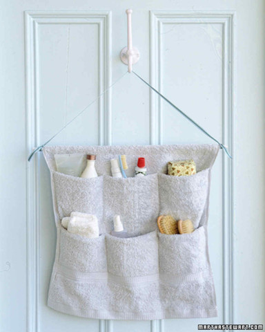 Image Courtesy: http://www.marthastewart.com/273483/terry-cloth-caddy