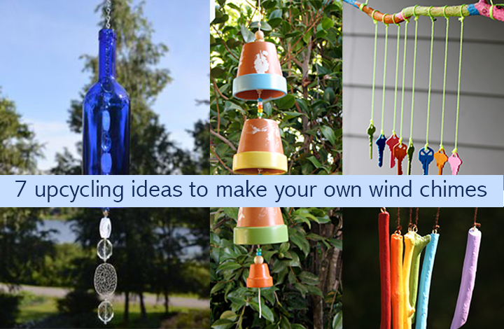 how to make wind chimes at home