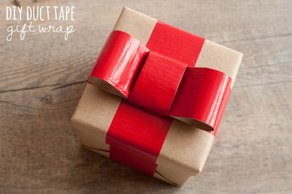 Image Courtesy: http://www.thesweetestoccasion.com/2012/11/diy-duct-tape-gift-wrap/