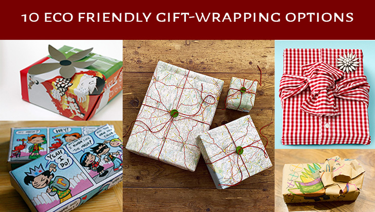 10 eco friendly gift wrapping options dogreen eco friendly gift wrapping gumiabroncs Image collections